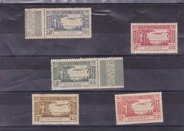 DAHOMEY : Y&T : 1 à 5 **PA - Dahomey (1899-1944)
