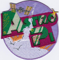 ISS Expedition 50 Astro-PI International Space Station Iron On Embroidered Patch - Patches