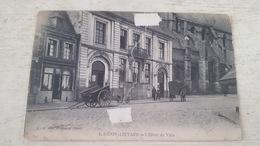 CPA RARE!! HENIN LIETARD- L'HOTEL DE VILLE- EDITION L.S - Henin-Beaumont