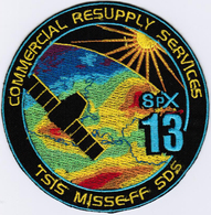 ISS Expedition 54 Dragon SPX-13 Nasa International Space Station Iron On Patch - Patches