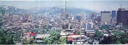 "SOUTH COREA -  AK 328679 Seoul - Panoramic Card - ""2cards"" - Korea, South"