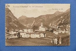 Cartolina Panorama Di Caspoggio - Valmalenco - 1927 - Sondrio