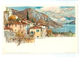 1900's, Italy, Menaggio, Manuel Wielandt Art Litho Pc, Unused. - Wielandt, Manuel