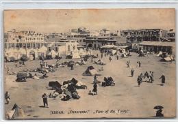 "ASIE : Jeddah """"""""panorame"""""""" View Of The Town - Tres Bon Etat - Cartes Postales"