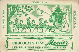 "Buvard ""CHOCOLATS FINS MENIER"" - Cocoa & Chocolat"