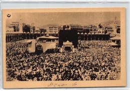 ASIE : La Mecque La Grande Mosquée Un Jour De Fete - Tres Bon Etat - Cartes Postales