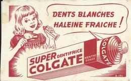 "Buvard ""SUPER COLGATE"" Dentifrice. - Perfume & Beauty"