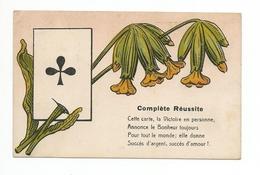 Cpa  L'as De Trèfle, Complète Réussite, - Cartes à Jouer