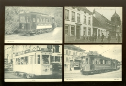 Lot De 33 Cartes Postales De Belgique Reproduction Moulin   Lot Van 33 Postkaarten Van België Reproduktie Tram Molen - Postcards
