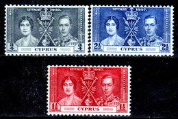 Cipro-041 - Emissione 1937 (++) MNH - Senza Difetti Occulti. - Zypern (...-1960)