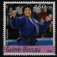 GUINEE BISSAU  N° 1734 * *  Jo 2004 ( Cote 2.25e )  Judo - Judo