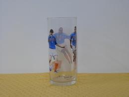 """Verre """"EQUIPE DE FRANCE FOOTBALL"""" Coca Cola - Mac Donald. Modèle 2 - Tazas & Vasos"""