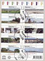 Nederland - 2014 - Velletje Unesco Werelderfgoed - Echt Gebruikt - Periode 2013-... (Willem-Alexander)