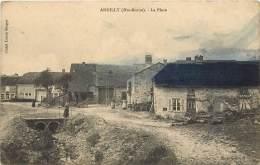 ANDILLY - La Place - Cachet Du 4e Régiment D'Artillerie  Territorial  à Pied - Autres Communes