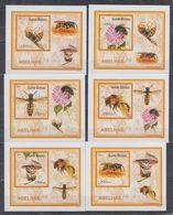 P82.  MNH Guine-Bissau Nature Animals Insects Honeybees Imperf - Bienen