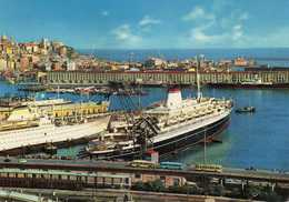 Italy > Liguria > Genova (Genoa) - Transatlantic Steamers In The Port.Ships - Genova (Genoa)