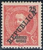 Lourenço Marques, 1911, # 83, MH - Lourenco Marques