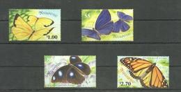 O953 NIUAFO'OU BUTTERFLIES 1SET MNH - Schmetterlinge