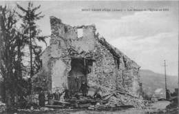 MONT SAINT PERE - Les Ruines De L'Eglise En 1919 - Other Municipalities