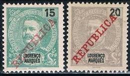 Lourenço Marques, 1911, # 81/2, MH - Lourenco Marques