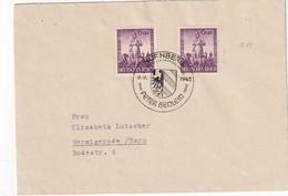 ALLEMAGNE 1942 LETTRE DE NÜRNBERG - Briefe U. Dokumente