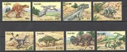 O958 NAURU PREHISTORIC ANIMALS DINOSAURS 1SET MNH - Prehistorics
