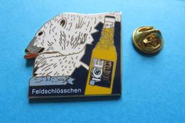Pin's,Biere,Beer,Bier,FELDSCHLÖSSCHEN ICE BEER,Ice-Baer,Ours,limitee 133/200 - Beer