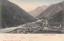 PONTEBBA-PONTAFEL-UDINE-CARTOLINA VIAGGIATA IL 27-10-1902 - Udine