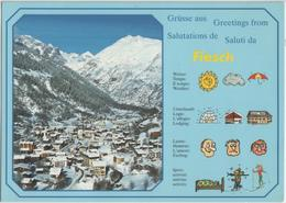 Grüsse Aus, Greetings Fom, Salutations De Fiesch Am Eggishorn - Photo: Klopfenstein - VS Valais