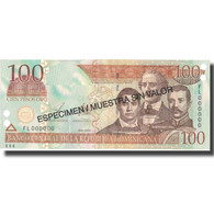 Billet, Dominican Republic, 100 Pesos Oro, 2003, 2003, Specimen, KM:171s3, NEUF - Dominicaine