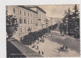 Porretta Terme, Viale Mazzini - F.G. - Anni '1950 - Bologna