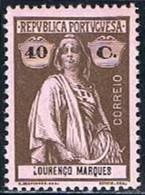 Lourenço Marques, 1914, # 130, MH - Lourenco Marques