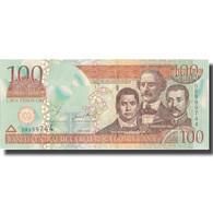 Billet, Dominican Republic, 100 Pesos Oro, 2002, 2002, KM:171b, NEUF - Dominicaine