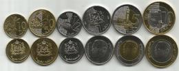 Morocco 2016/17. Complete Coin Set Of 6 Coins UNC - Maroc