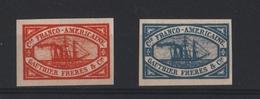 1927 FRANSE LEGIOEN AMERICAINE ZEGELS ONGETAND MET GOM - Non Dentellati