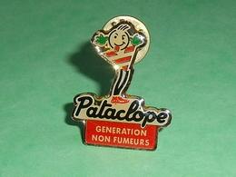 Pin's / Tabac : Pataclope , Génération Non Fumeurs    TB1W - Pin's