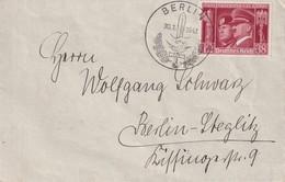 ALLEMAGNE 1941 LETTRE DE BERLIN - Covers & Documents