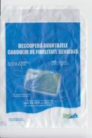 Romania - Pharmacy - Sensiblue - Fidelity Card Advertising - Pharmacy Envelope For Pills - Old Paper