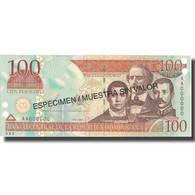 Billet, Dominican Republic, 100 Pesos Oro, 2002, 2002, Specimen, KM:171s2, NEUF - Dominicaine