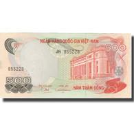 Billet, South Viet Nam, 500 D<ox>ng, 1970, 1970, KM:28a, SUP+ - Vietnam