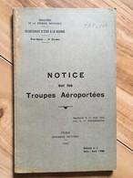 Livre Organisation TAP 1952 - Français
