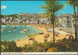 Harbour Beach, St Ives, Cornwall, C.1970 - John Hinde Postcard - St.Ives