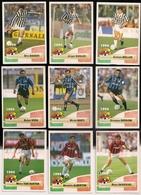 9 Cartes Panini Football 1994 Cards Official. Moller Kohler Baggio Bergomi Berti Sosa Savicevic Albertini Van Basten - Other Collections