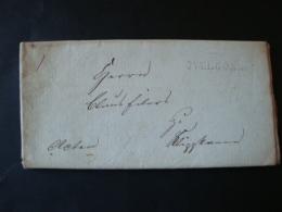 Vorphilabrief Langstempel Ovelgönne, 1831 - Germania