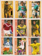 9 Cartes Panini Football 1994 Cards Official. Lambert Haon Marquet Durix Clément Paille Madar  Micciche Castro - Other