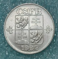 Czechoslovakia 10 Hellers, 1992 ↓price↓ - Czechoslovakia