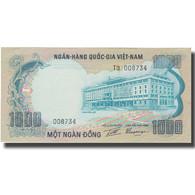 Billet, South Viet Nam, 1000 D<ox>ng, 1972, 1972, KM:34a, SPL - Vietnam