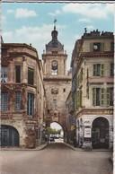 17----LA ROCHELLE--grosse Horloge--( Affiche Ouverture De La Saisson De Rudby U. S. Marmande E. S. C. R. --voir  2 Scans - La Rochelle