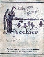 Protège-cahier  Emulsion SCOTT   Médicament  Huile De Foie De Morue - Protège-cahiers