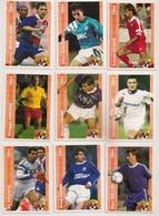 9 Cartes Panini Football 1994 Cards Official. Kovacs Boksic  Gravelaine Cocard Pavon Anziani Keller Farina  Bouafia - Other Collections